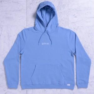 QUASI / LOGOS HOODIE / BLUE / S [Japanese Size M]