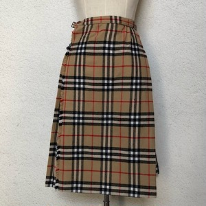 1980s Vintage Burberrys' Kilt Skirt Made In England 152cm