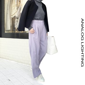 Tuck Wide Pants/FUJI