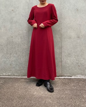 (PAL) no collar l/s one-piece