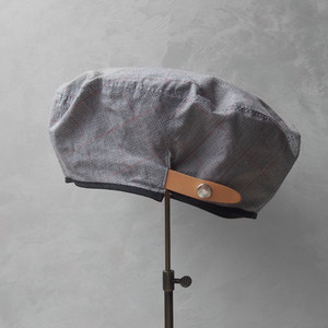 Nine Tailor Dish beret Gray check