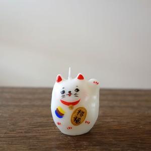 *招き猫/左手