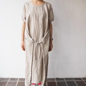 むすぶワンピース       -MUSUBU ONE PIECE DRESS-
