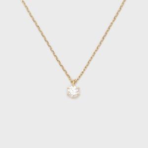 ENUOVE frutta Diamond Necklace K18YG(イノーヴェ フルッタ 0.2ct K18イエローゴールド ダイヤモンドネックレス スライドアジャスターチェーン)