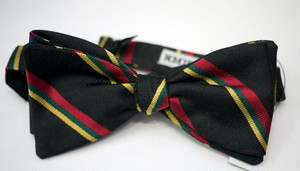 INDIVIDUALIZED ACCESSORIES bowtie BLACK