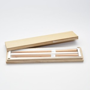 graf (グラフ) Triangle chopsticks 三角箸 桐箱入り (ブナ)