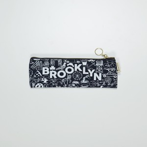 MAP TOTE / Pencil Pouch Brooklyn  Denim