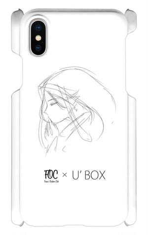 FOC × U'BOX コラボiPhoneケース(ラフ画ver.)