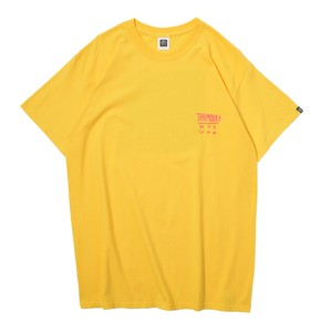 LEAF LOGO S/S TEE(YELLOW)[TH8A-SS1]
