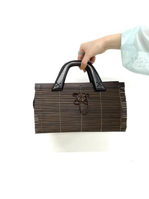 wood hand bag / 2SSGD23-17