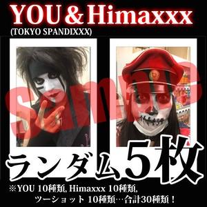 【チェキ・ランダム5枚】YOU&Himaxxx(TOKYO SPANDIXXX)