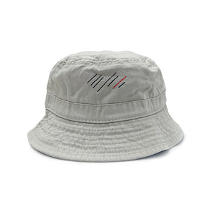 scar /////// BLOOD PIGMENT DYED BUCKET HAT (Sand)