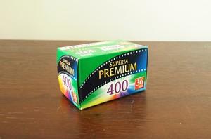 【 35mm カラーネガ 】FUJIFILM( フジフィルム ) SUPERIA PUREMIAMU400 36枚撮り