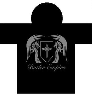 オリジナル黒ライトパーカー【バトラー帝国通常ver1】