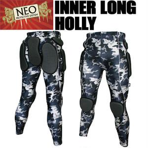NEO インナーロングパンツ ホーリー Wカモ プロテクター スノーボード・スキー・スケボーに