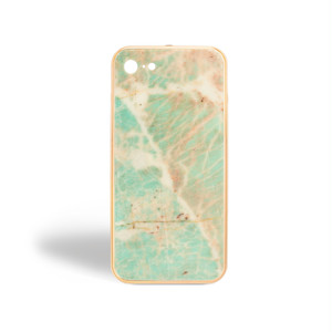THE QUARTZITE CASE AMAZONITE IPHONE 7/8 GOLD