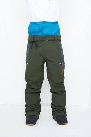 2018-19 REW アールイーダブリュー THE STRIDER PANTS 15 STRAIGHT FIT Army