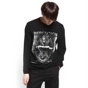 VIRGO / REPETITION SPACEZ L/S / BLACK