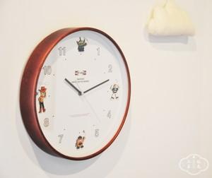 DISNEY wood parts clock  TOY STORY.