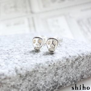 スカルのプチピアス【skull pierce(sv)】