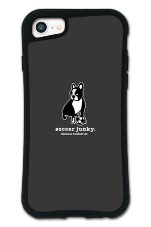 サッカージャンキー パンディアーニ ブラック セット WAYLLY(ウェイリー) iPhone 8 7 XR XS X 6s 6 Plus XsMax対応!_MK_