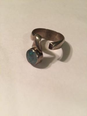 SOLDこちらはご購入いただけませんVintage 925 silver ring ( ヴィンテージ  シルバー オパール リング )