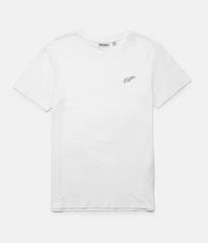 Rhythm リズム Tシャツ SCRIPT T-SHIRT WHITE M