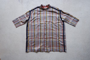 ohta check wide shirts (check / size:M1) [st-37C]