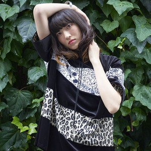 WIDE BORDER VELOR TOPS◆LEOPARD