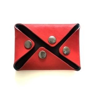 カードケース combination Card case =red=