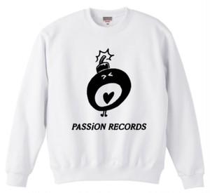 PASSiON RECORDS LOGO sweat white