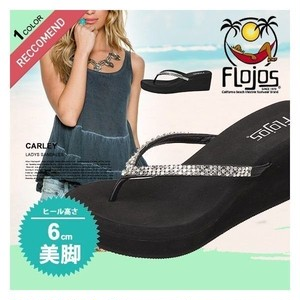 300CARLEY フロホース 訳アリ商品 厚底 サンダル レディース 女子 ブラック 黒 23cm 通販 大人気 ブランド 美脚 かわいい ビーチ リゾート プール FLOJOS
