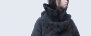 NO CONTROL AIR 【ノーコントロールエアー】 Stretch polyester lily 3G big knit Snood