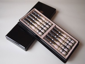 進物用 お線香 ◆ 宇野千代 特選淡墨の桜  10把入  塗箱