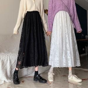 【送料無料】双子コーデ♡レースロングスカート♡