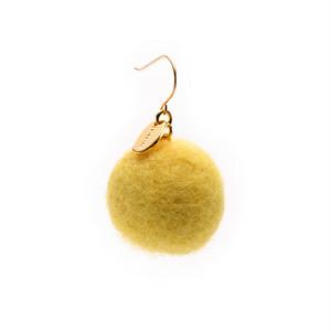 Felt Ball Hook - Yellow