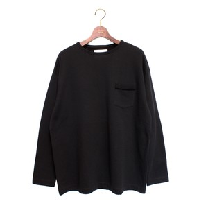 L/S Loose Pocket Tee -black <LSD-AH3T4>