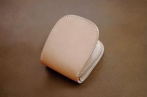 【受注製作】本革サドルレザーのショート財布【ノーマル】