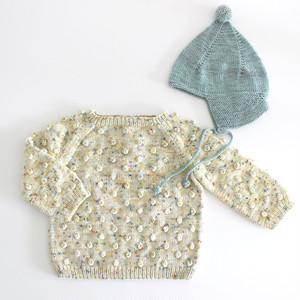 Misha and Puff   Popcorn Sweater KIDS Confetti Cake