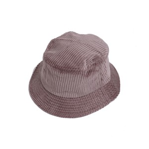 En Plein Air WIDE WALE CORDUROY BUCKET HAT(MASHROOM)
