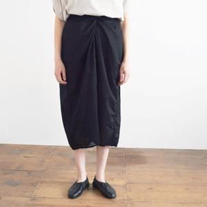 COSMIC WONDER   コズミックワンダー オーガニックコットン ラップドスカート Beautiful organic cotton wrapped skirt 11CW16046 black