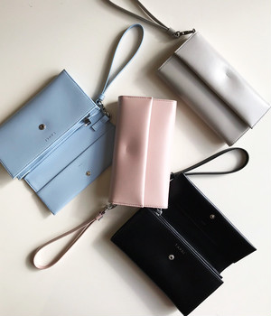 YAHKI / FLAP LONG WALLET
