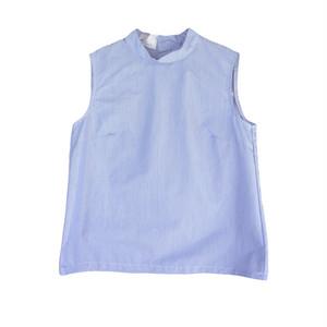 MANUAL ALPHABET  スイスコットンノースリーブハイネックシャツ