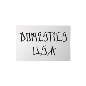 DOMESTICS ANDY ROY LETTERING STICKER