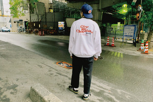Free Draw Logo SWEAT【White/Violet】
