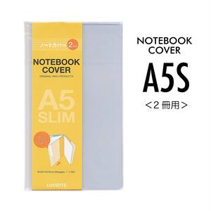 A5スリム ノートカバー<2冊用>/LDPP-A5S-02