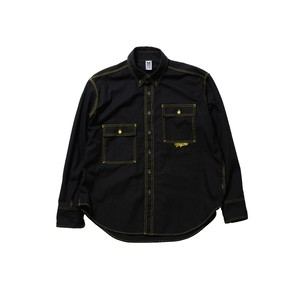 OVER SIZE SHIRT / BLACK