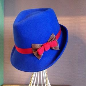 バラ色の帽子  ハット