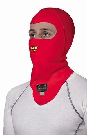 P1 バラクラバ (フェイスマスク) レッド