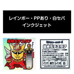 サンプル#004:レインボー/PP/インクジェット/白セパ